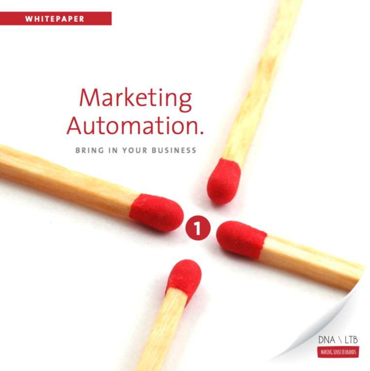 Voorkant Marketing Automation, Bring in your Business